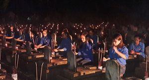 Xúc động Lễ Thắp nến tri ân tại Nghĩa trang Quốc tế Việt-Lào