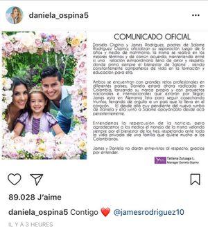 James Rodriguez ly dị vợ sau 6 năm
