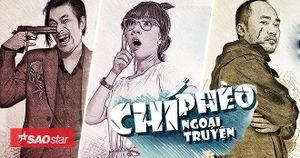 Thu Trang, Kiều Minh Tuấn, Phở Đặc Biệt hóa 'nhân vật truyện tranh'