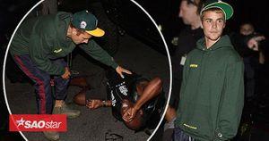Sau cú tông xe, phóng viên bị thương gọi Justin Bieber là đứa trẻ tốt còn cư dân mạng cho rằng chỉ 'diễn'