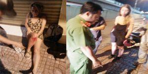 Hai nữ du khách người Đức mất xe máy sau khi bị tai nạn ở Sài Gòn