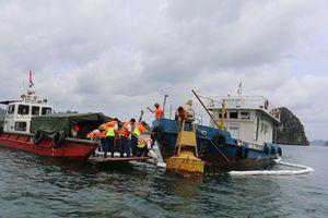 Nguyên nhân ban đầu sự cố tràn dầu ở vùng biển Hạ Long