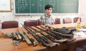 'Kho' vũ khí khủng trong rừng của trùm ma túy Nghệ An