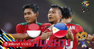 Highlights: U22 Indonesia 3-0 U22 Philippines