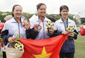 Thua 'mũi tên vàng' bắn cung Việt Nam giành HCB
