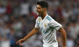 Real Madrid vs Barcelona (1-0, H1): Asensio lập siêu phẩm