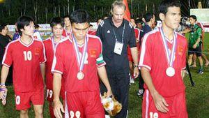 U23 Việt Nam thất bại trước Thái Lan tại SEA Games 22