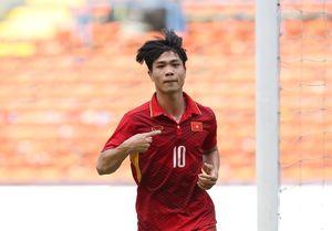 U22 VN 1-0 Campuchia (H1): Công Phượng ghi bàn sau màn đập nhả ăn ý