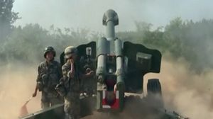 TQ tập trận pháo binh giữa nắng nóng gay gắt