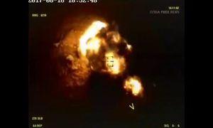 Video Nga hủy diệt khủng bố IS ở miền trung Syria