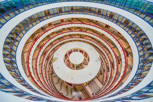 Cận cảnh 'tòa nhà thế kỷ' tại ĐH Kinh tế Quốc dân