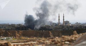 Không quân Nga yểm trợ Quân đội Syria bao vây IS ở Akerbat