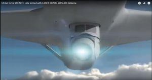 S-400 Nga sẽ bị 'hung thần' UAV tàng hình Mỹ át vía?