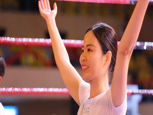 Hoa hậu Thu Thủy chia sẻ bí quyết trẻ đẹp nhờ Yoga
