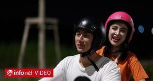 """Angela Phương Trinh và Rocker Nguyễn hôn say đắm ngay tập 1 """"Glee"""""""