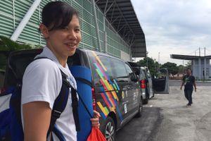 Ánh Viên và đồng đội vượt khó tập bơi ở Malaysia