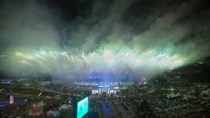 Toàn cảnh lễ khai mạc SEA Games 29
