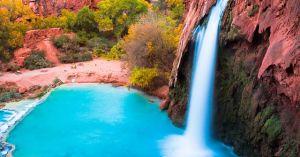 'Phát cuồng' vì thác nước đẹp không tưởng ẩn mình trong hẻm núi