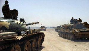 'Hổ Syria' tác chiến không-bộ, đánh dẹp IS trên sa mạc Homs (video)