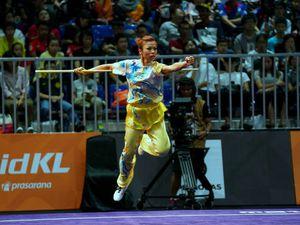 Wushu lại gặt vàng cho thể thao Việt Nam