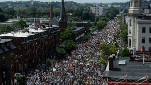 Biểu tình đòi tự do ngôn luận tại Boston