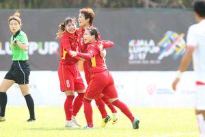 Đả bại Myanmar, tuyển nữ Việt Nam sẵn sàng giành HCV