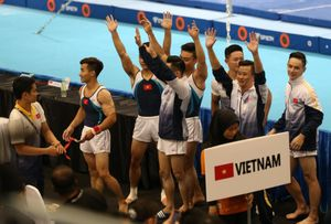 Thể dục dụng cụ Việt Nam giành HCV đầu tiên ở SEA Games 29