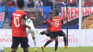 Cầu thủ Indonesia vs Đông Timor lao vào nhau ẩu đả