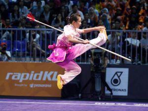 Vang dội SEA Games: 'Cô gái vàng' Thúy Vi giành HCV thứ 5