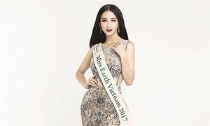 Hà Thu đại diện Việt Nam thi Hoa hậu Trái đất 2017