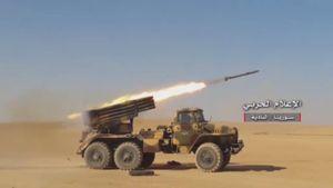 Quân đội Syria khai hỏa đánh chiếm cứ địa IS giáp biên giới Iraq