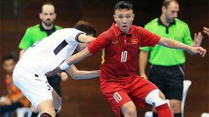 ĐT Futsal Việt Nam hòa nghẹt thở đội chủ nhà