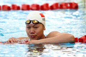 Nguyễn Thị Ánh Viên dẫn đầu vòng loại 100m ngửa nữ