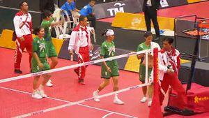 Cầu mây Indonesia bỏ thi đấu phản đối trọng tài SEA Games