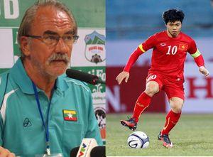 HLV Myanmar đánh giá thấp Thái Lan, đề cao U22 Việt Nam