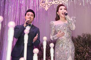 Bảo Thy rủ Quang Vinh hát mừng đám cưới anh trai