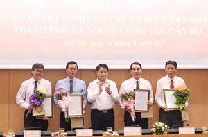 Hà Nội bổ nhiệm giám đốc Sở Tư pháp, Du lịch