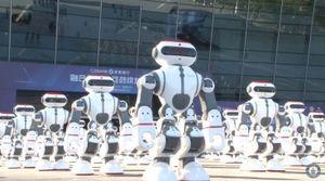 Vũ điệu của hơn 1.000 robot lập kỷ lục Guiness