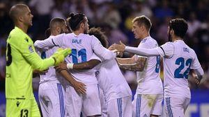 Ramos nhận thẻ đỏ, Real vẫn thắng đậm Deportivo