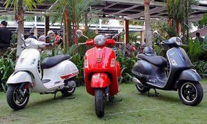 Doanh số xe máy Piaggio tại Việt Nam giảm thê thảm