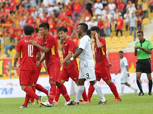 Trực tiếp U22 Việt Nam vs U22 Indonesia(hiệp 1)