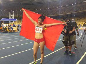 Vượt sóng gió, 'nữ hoàng điền kinh' Việt phá kỷ lục SEA Games