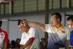 SEA Games 29: HLV Nguyễn Thị Nhung chia sẻ về thất bại của xạ thủ Hoàng Xuân Vinh