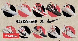 Toàn bộ 'con chung' chính thức lộ diện, kèn trống đâu rồi mau soạn sẵn cho Nike x Off-White vào 1/9 đi!