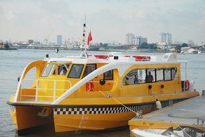 Đến tháng 10 buýt đường sông mới hoạt động