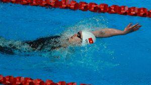 Ánh Viên bỏ xa đối thủ ở vòng loại 200 m bơi ngửa