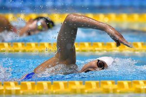 Ánh Viên dẫn đầu vòng loại 400 m bơi tự do
