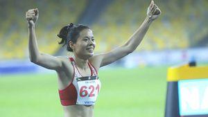 Nguyễn Thị Huyền phá kỷ lục SEA Games nội dung 400 m rào nữ