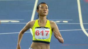Tú Chinh giành HCV 100 m nữ