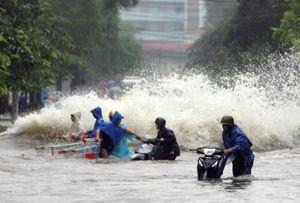 Miền Bắc mưa tới 300mm: Hà Nội sắp có mưa rất to
